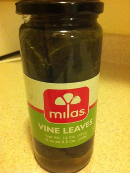 You can buy jarred grape leaves at lots of specialty stores, or in supermarkets with aisles for international foods. Or grab them online!