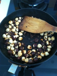 Roast your hazelnuts peels crack and most come off