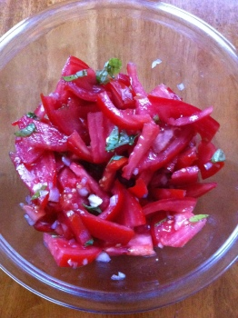 Late Summer Tomato Salad
