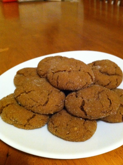 Triple Ginger Cookies