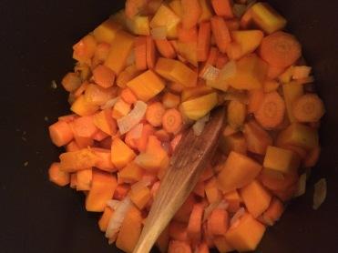 Orange veg, away!