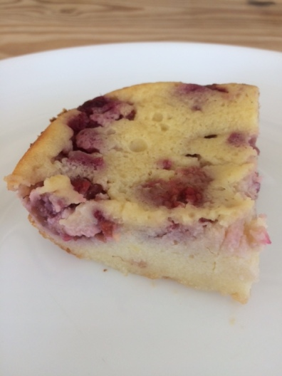 Raspberry-Lemon Clafouti
