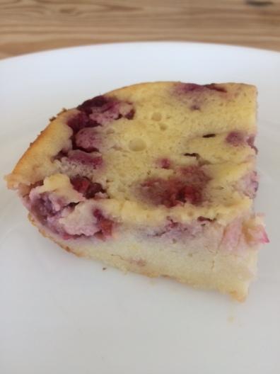 Raspberry-Lemon Clafouti