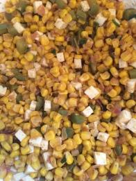 Quickie Corn Salad, on PhD Kitchen