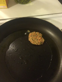 ...frying patties