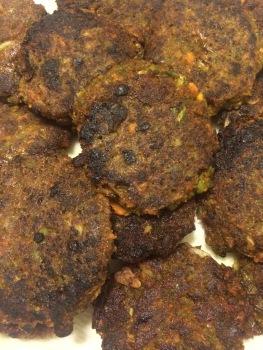 Accidental Veggie Burgers, on PhD Kitchen
